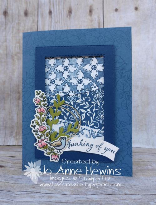 Curvy Celebrations Card by Jo Anne Hewins