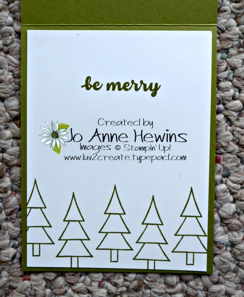 Coming Home Bundle Card Inside by Jo Anne Hewins