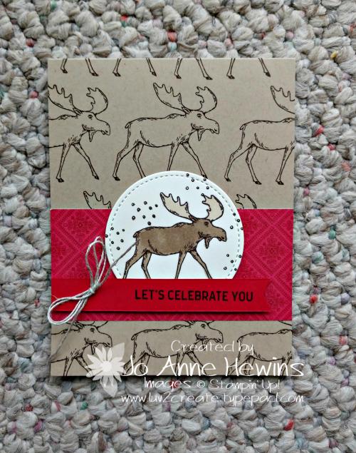 Merry Moose by Jo Anne Hewins
