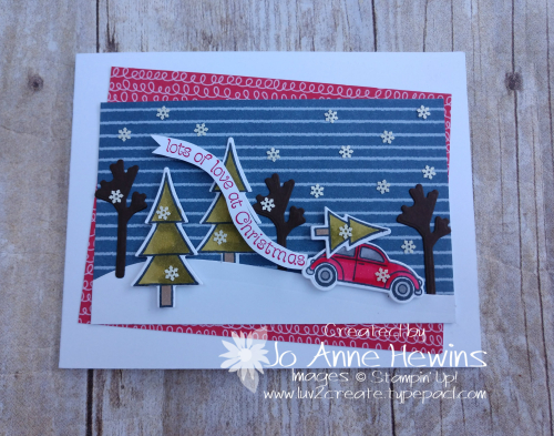 CCMC#637 Coming Home Card by Jo Anne Hewins