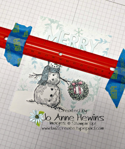 OSAT Nov Snow Wonder Attaching Letters by Jo Anne Hewins