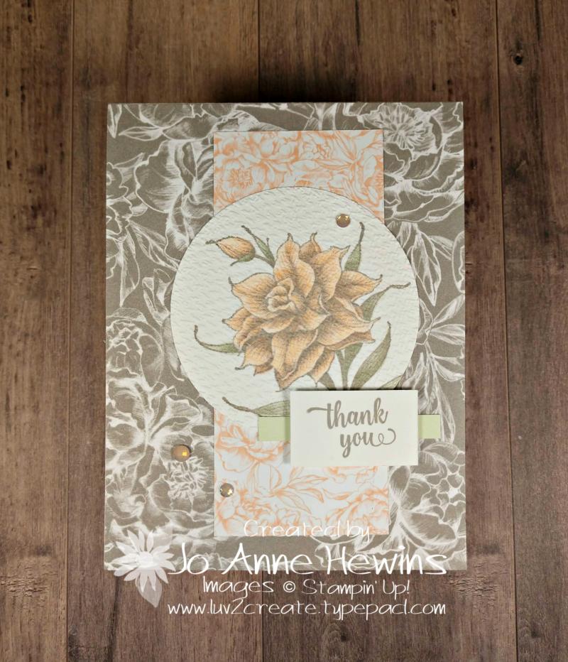 CCMC #639 Flowering Blooms Project by Jo Anne Hewins