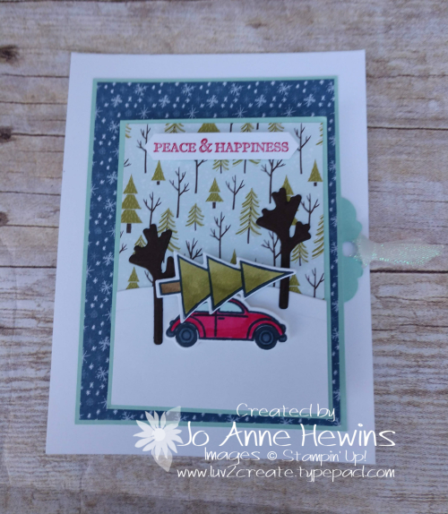 Coming Home Flip Flap Card by Jo Anne Hewins