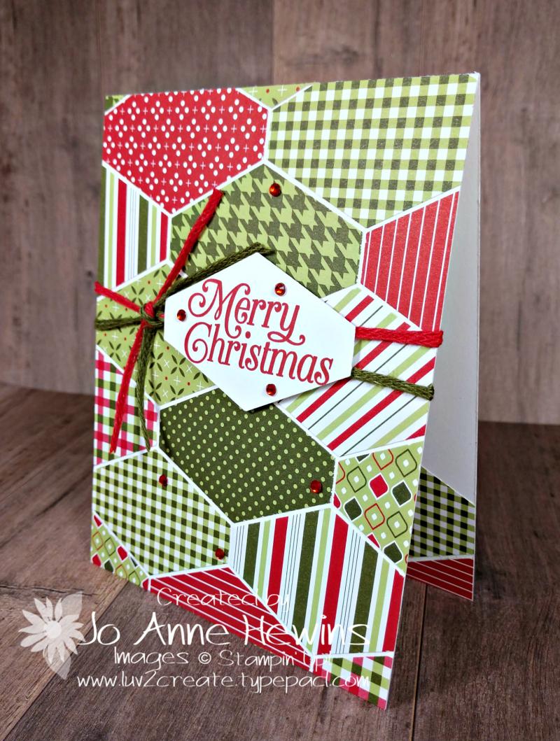 CCMC #642 Heartwarming Hugs Card by Jo Anne Hewins