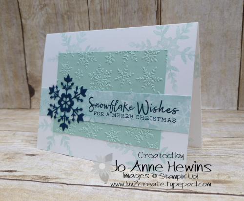 Snowflake Wishes bundle Project by Jo Anne Hewins