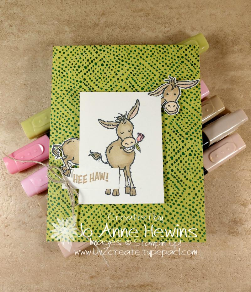 CCMC #643 Darling Donkeys by Jo Anne Hewins