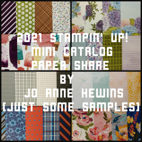 2021 Jan-June Mini Catalog Paper Share by Jo Anne Hewins