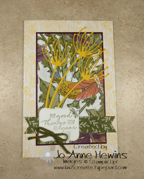 Garden Wishes Note Cards & Envelopes from Dandy Garden Suite by Jo Anne Hewins