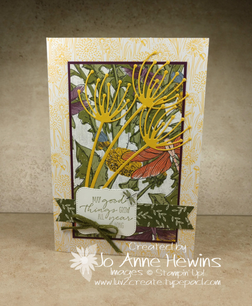 Garden Wishes Note Cards & Envelopes from Dandy Garden Suite Card by Jo Anne Hewins