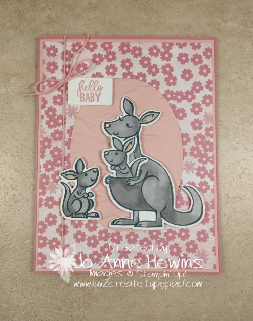 Kangaroo & Company Family by Jo Anne Hewins