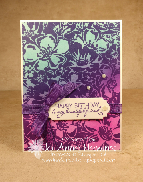Color Fusers Wild Roses Project by Jo Anne Hewins