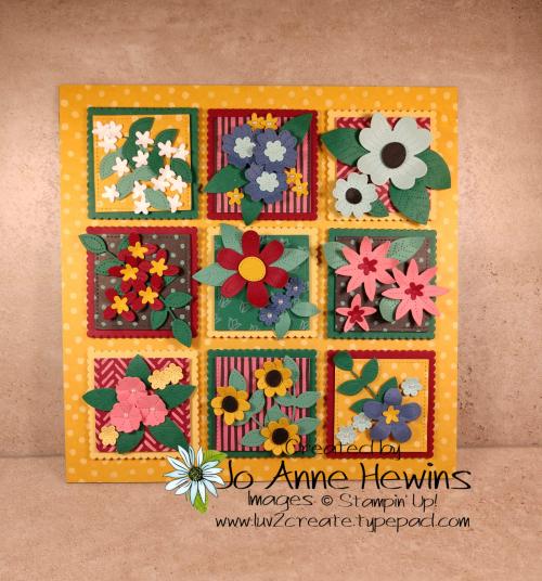 In Bloom Flowers & Field Sampler for OSAT by Jo Anne Hewins