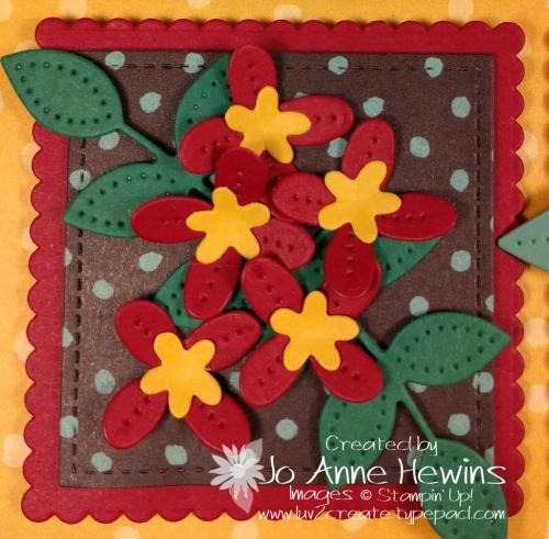 In Bloom Flower & Field Block 6 by Jo Anne Hewins