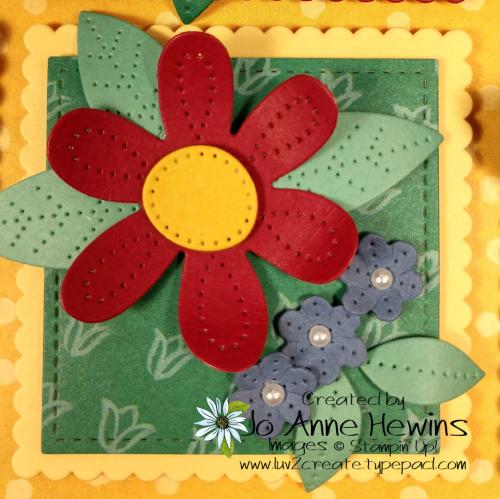 In Bloom Flower & Field Block 5 by Jo Anne Hewins