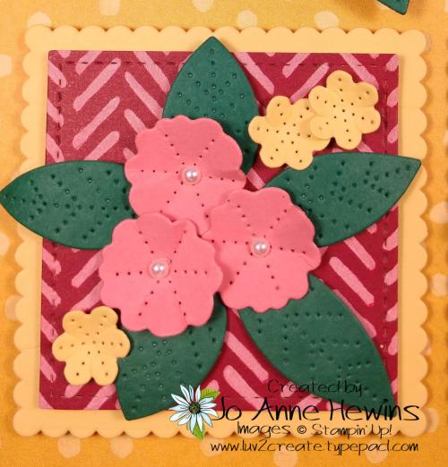 In Bloom Flower & Field Block 7 by Jo Anne Hewins