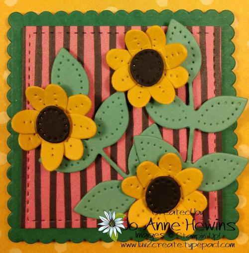 In Bloom Flower & Field Block 8 by Jo Anne Hewins