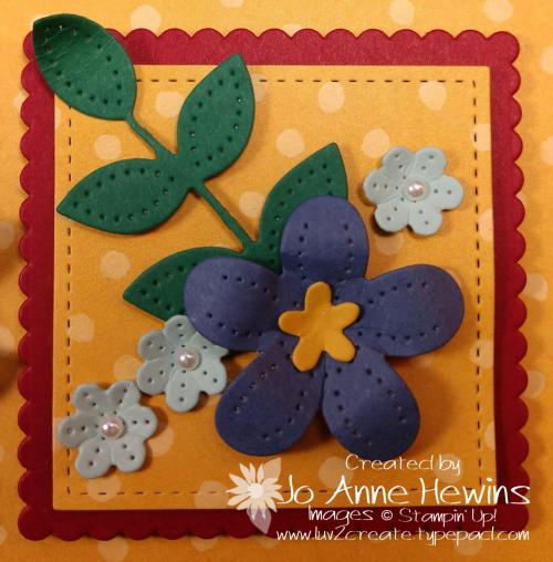 In Bloom Flower & Field Block 9 by Jo Anne Hewins