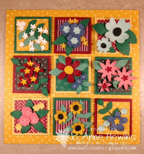 In Bloom Flowers & Field Sampler by Jo Anne Hewins
