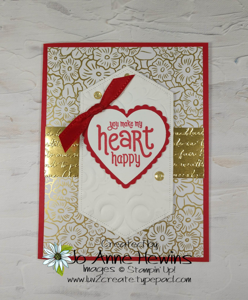 Valentine Heart Punch Pack by Jo Anne Hewins