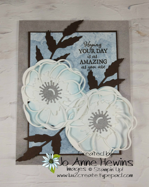 Color Fusers Poppy Moments by Jo Anne Hewins