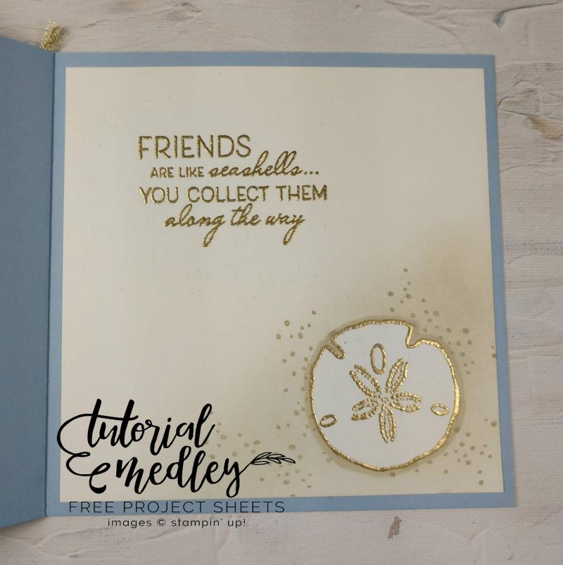 Tutorial medley Friends Are Like Seashells Inside