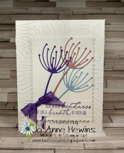 CCMC#654 Dandy Wishes by Jo Anne Hewins