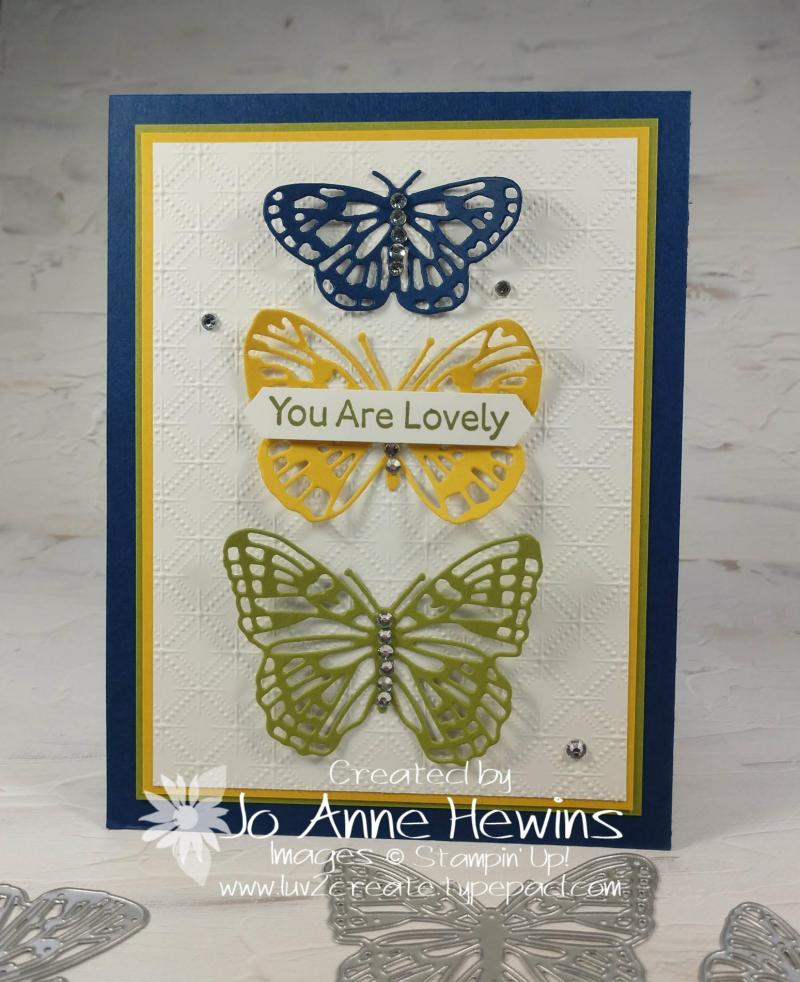 CCMC#656 Brilliant Wings by Jo Anne Hewins
