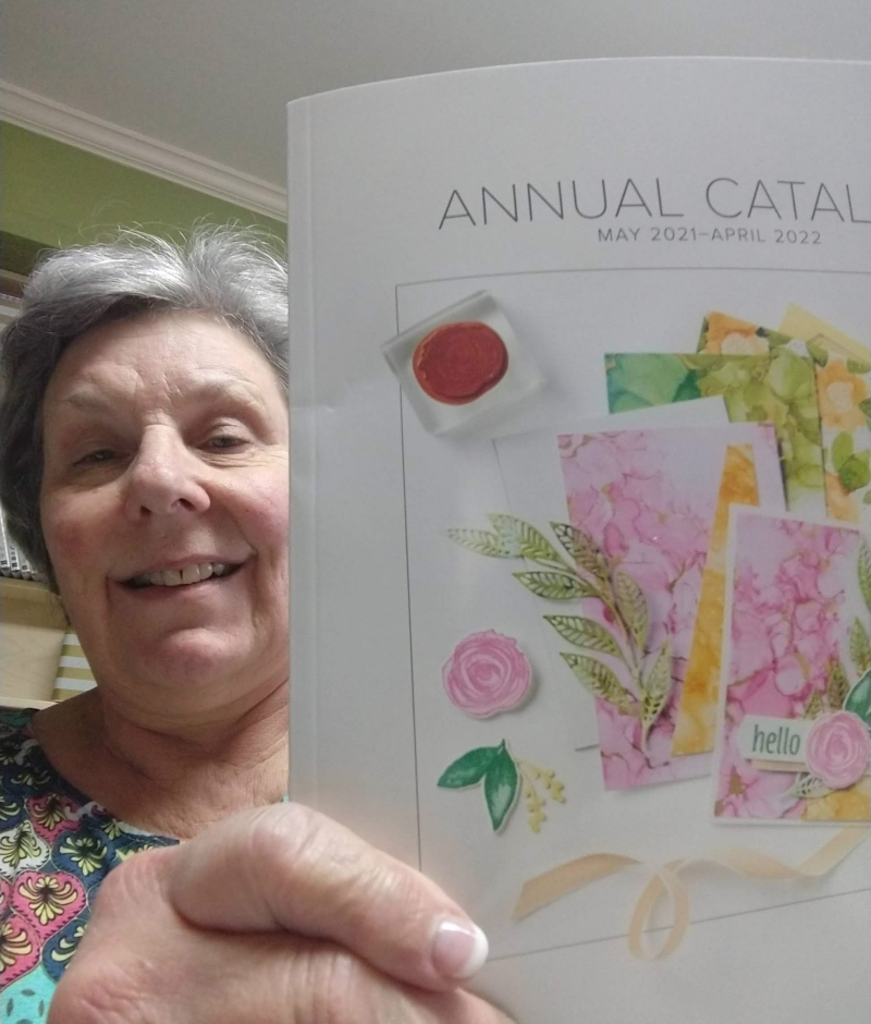 2021-2022 Annual Catalog and me!
