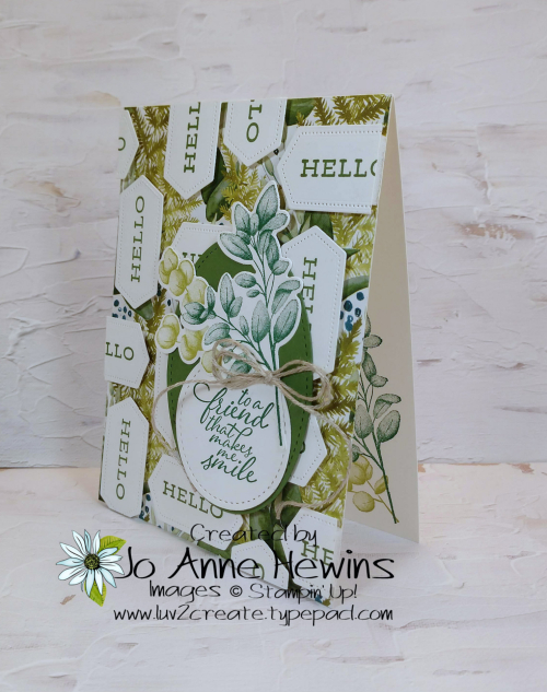 Forever Greenery Sentiment by Jo Anne Hewins
