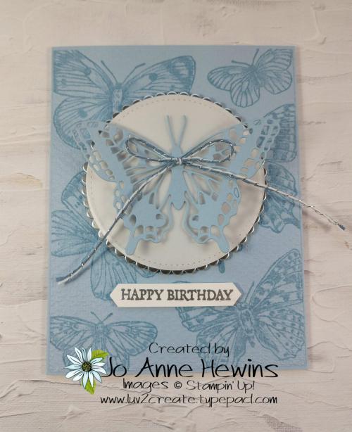 Brilliant Butterfly by Jo Anne Hewins