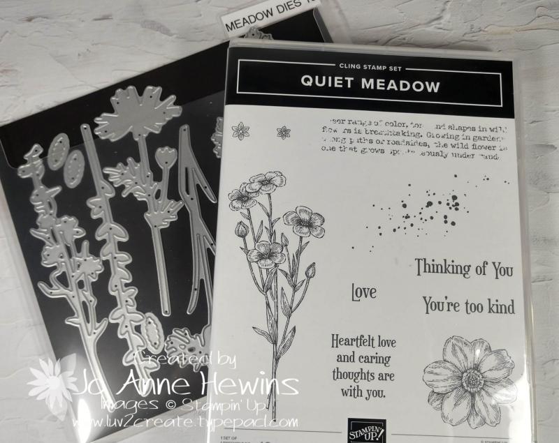 Quiet Meadow Set and Dies