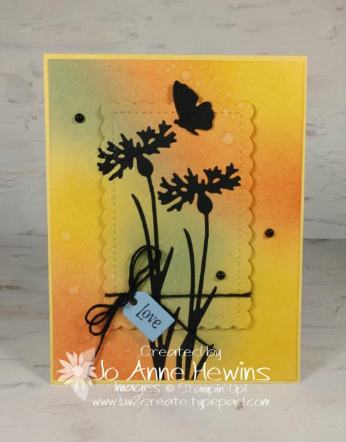 CCMC#660 Quiet Meadow Card by Jo Anne Hewins