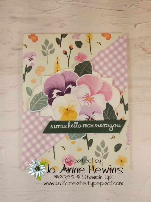 CCMC #661 Pansy Petals by Jo Anne Hewins