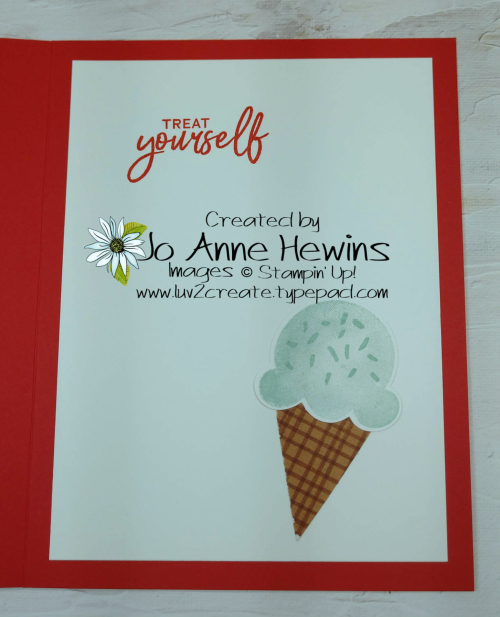 Color Fusers May Sweet Ice Cream Inside by Jo Anne Hewins