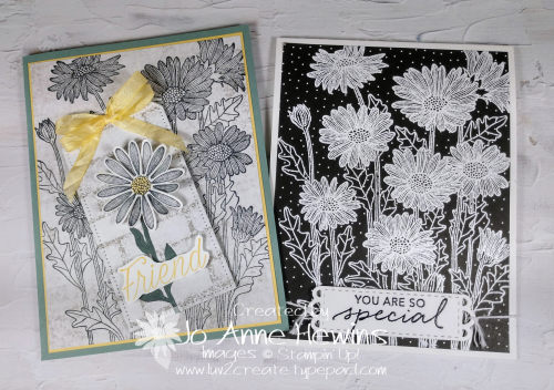 NC Demo Blog Hop for May Daisy Garden Cards by Jo Anne Hewins