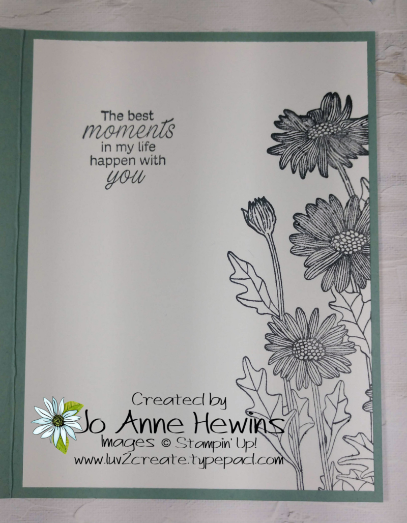 NC Demo Blog Hop for May Inside of Card by Jo Anne Hewins