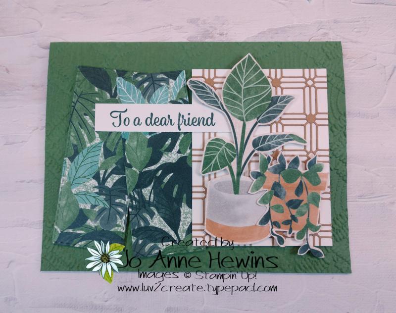 CCMC #668 Plentiful Plants by Jo Anne Hewins
