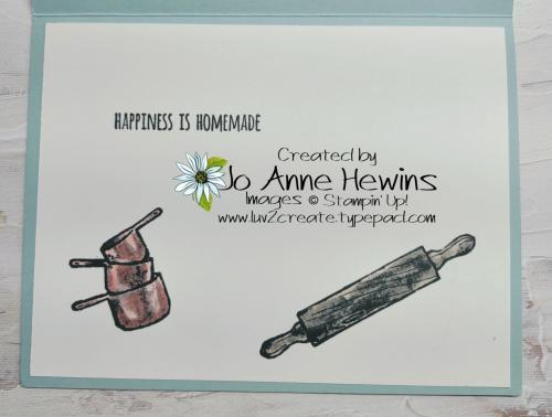 What's Cookin' Inside by Jo Anne Hewins
