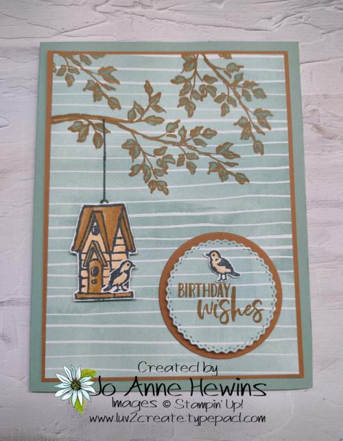 CCMC#669 Garden Wishes by Jo Anne Hewins