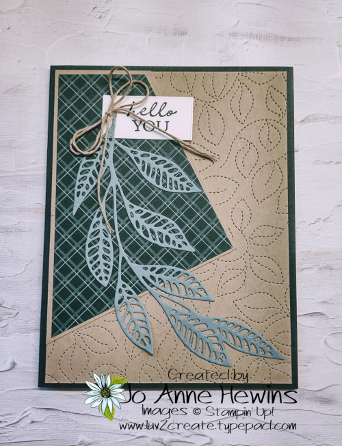 Easy 6 x 6 One Sheet Wonder Card 2 by Jo Anne Hewins