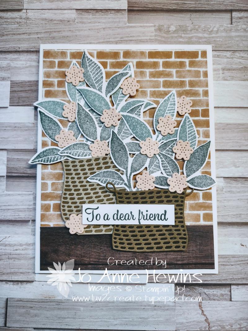 NC Demo Blog Hop for June Plentiful Plants by Jo Anne Hewins