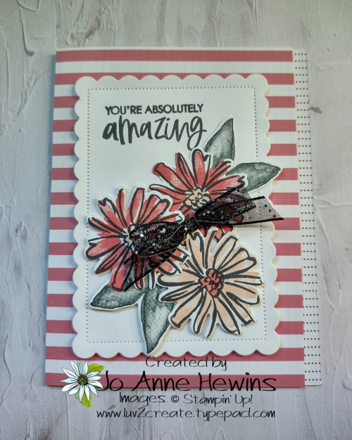 12 x 12 One Sheet Wonder Facebook Color and Contour by Jo Anne Hewins