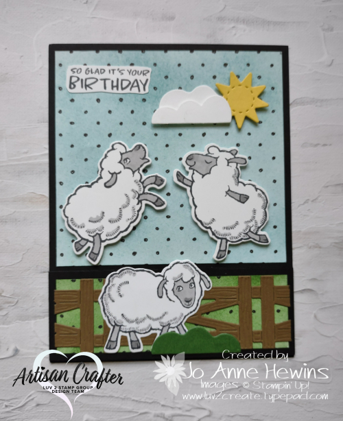 Counting Sheep by Jo Anne Hewins