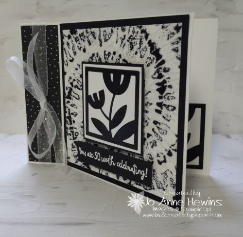 Tutorial Medley All Squared Away Card by Jo Anne Hewins