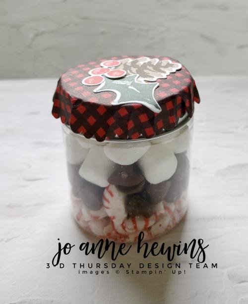 3D Thursday Chocolate Jam Jar by Jo Anne Hewins