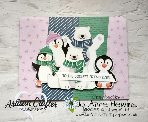CCMC #680 Penguin Playmates by Jo Anne Hewins