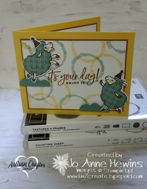CCMC #682 Counting Sheep with Stamp Sets by Jo Anne Hewins
