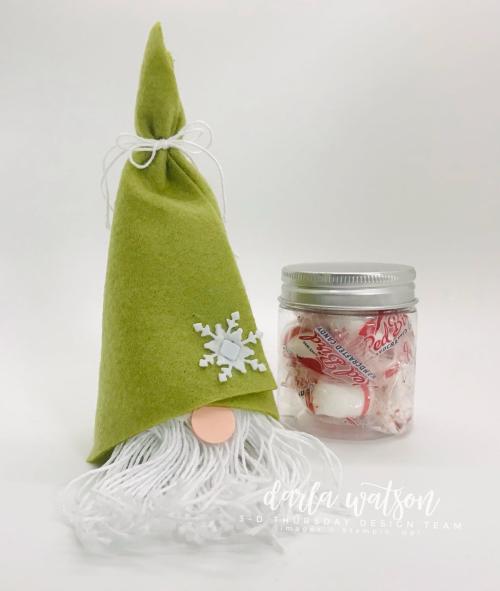 3D No Sew Gnome 1