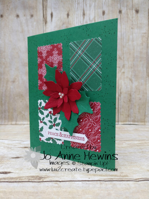 Poinsettia Petals and 'Tis the Season Project by Jo Anne Hewins