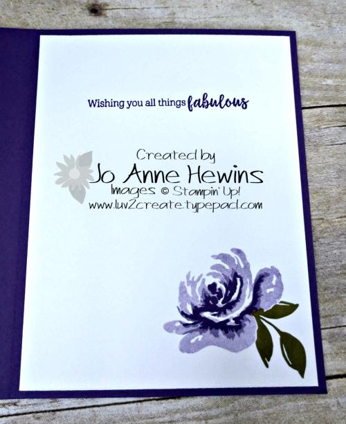 All Things Fabulous Inside by Jo Anne Hewins